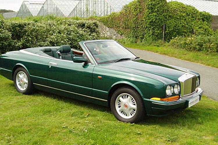 Bentley-Azure-Mulliner green