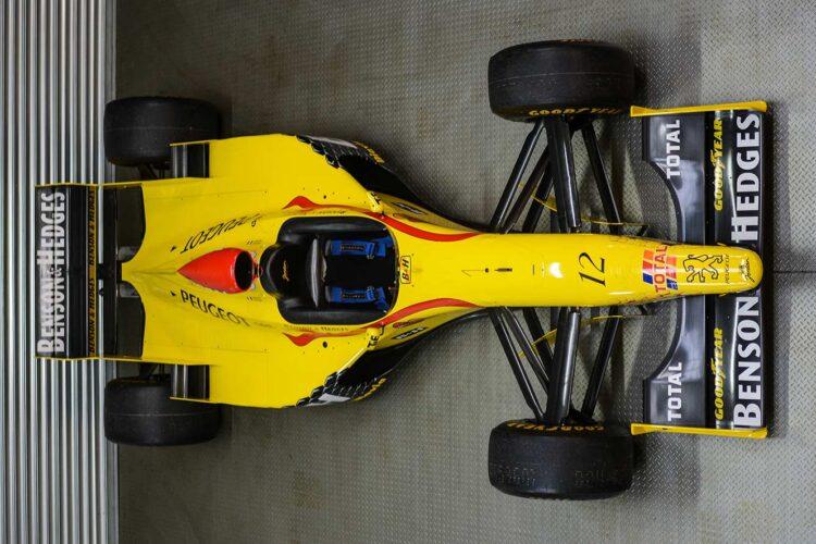 Jordan-F1-Race-Car